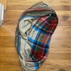 Nordstrom Thick flannel infinity scarf